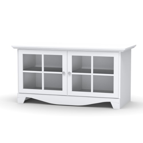 nexera 100403 pinnacle 49 inch tv stand white reviews. Black Bedroom Furniture Sets. Home Design Ideas
