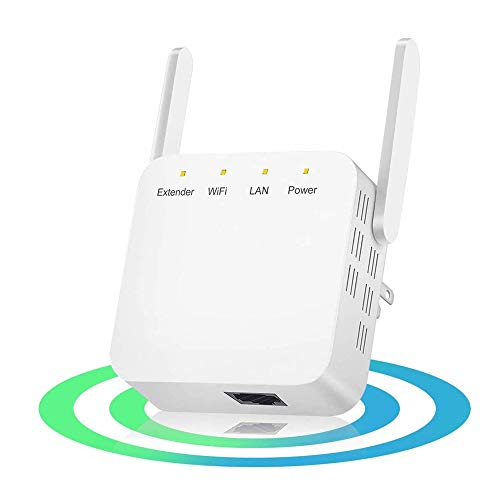Wifi Extender Internet Wifi Range Extender Actualizado, Fácil Configuración 300mbps Wireless Repeater Signal Booster Para Router 2.4ghz Amplificador Con Antena De Alta Ganancia Ethernet Port-wall Plug