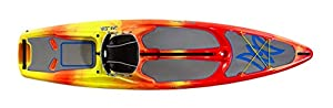 All the fun of kayaking and stand up paddle boarding combined in one - Made in USA Designed for flat, slow-moving and calm coastal water types Perfect for sharing the water with kids and dogs Bronze medal winner of the prestigious 2018 International ...