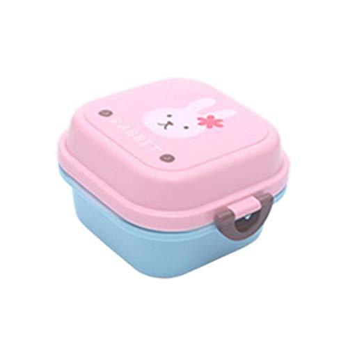 Foshuo Pranzo al Sacco sigillato,Pranzo al Lavoro Pranzo Isolato più Fresco Lunch Box Student Lunch Box coibentato Kit Pranzo Standard Lunch Box coibentato Leakpro Lunch Box più freschi