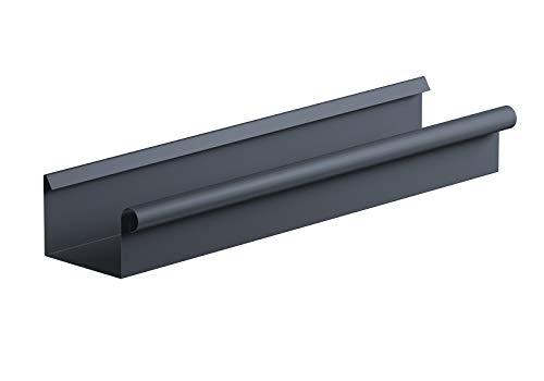 Kastendachrinne NW 68 Aluminium anthrazit Länge 2 Meter