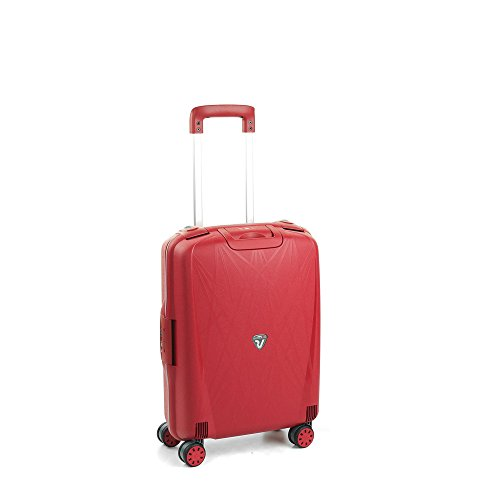 Roncato - RONCATO LIGHT (Spider) 4 W - 500714 - Trolley 55 con (20 Cms.) 4 ruedas - Talla : 55x40x20 - Color : Rojo