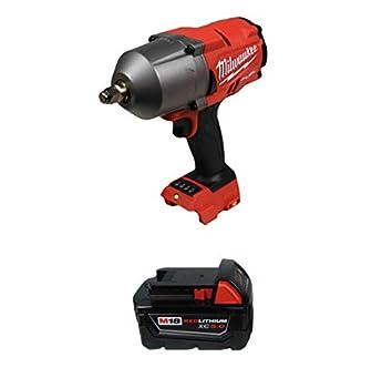 Milwaukee 2767-20 1/2  High Torque Impact Wrench w/ 48-11-1850 5.0Ah Battery