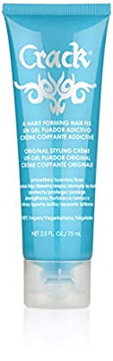 CRACK HAIR FIX Styling Creme - Multi-Tasking, Anti-Frizz, Leave-In Styling Aid With Protection from Humidity, Chlorine, Heat Treatments & Sun ( 2.5 Oz / 75 Milliliter )