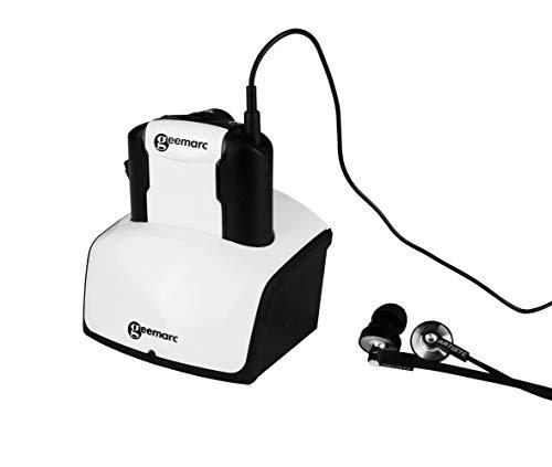 Geemarc Zusatzkopfhörer CL7350 OPTICLIP verstärkter Funk-Fernsehkopfhörer mit Mikrofon und optischem Anschluß (bis zu 125 dB) - Ton- und Balanceregelung