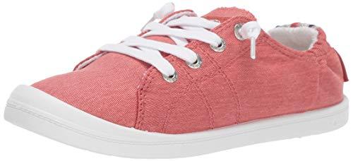 Roxy Damen Bayshore Slip On Sneaker Shoe Turnschuh, hellrot, 35.5 EU