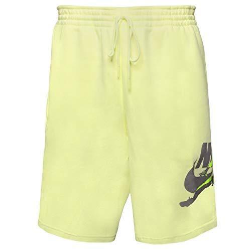 Nike M J Jumpman Classics Shorts für Herren L Leuchtend grün/Gewehrrauch/Volt/Gewehrrauch