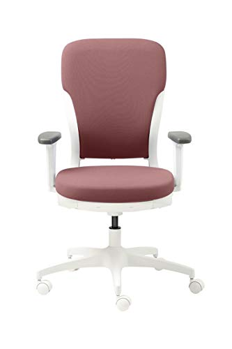 GODREJ INTERIO Ergonomic Motion High Back Executive Chair (Russet)-Adjustable Armrest (Suitable for Work from Home)