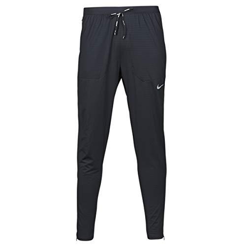NIKE M NK Phnm Elite Knit Pant Sport Trousers, Hombre, Black/Black/Reflective silv, 2XL
