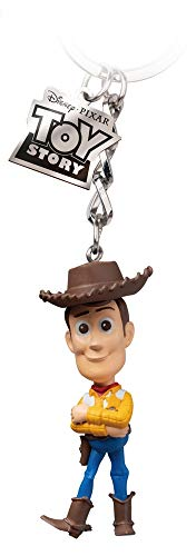 Grupo Erik Disney, Toy Story, Porte-clés Egg Attack Mixte, Woody, 7-8cm