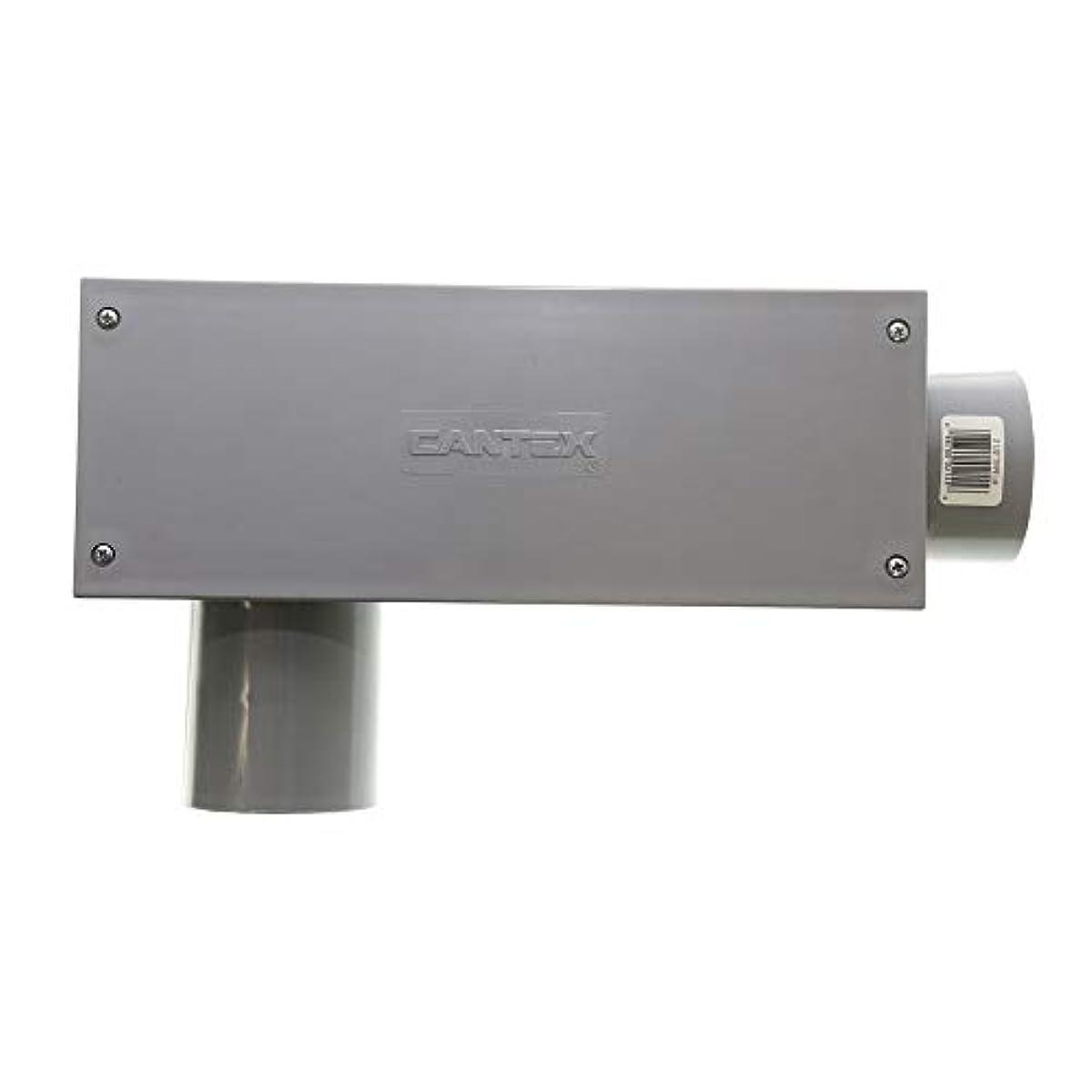 Cantex 5133658 Non-Metallic PVC Type-LR Conduit Access Body Fitting, 2-1/2-Inch