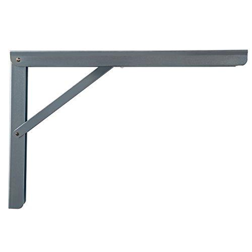 Schwerlast-Konsole Klappkonsole Tisch - Sitzbank Klappträger klappbar PROFI LINE | Metall verzinkt | 300 x 30 x 200 mm | Tragkraft 180 kg | MADE IN GERMANY | 1 Stück - Klappwinkel für Wand-Montage