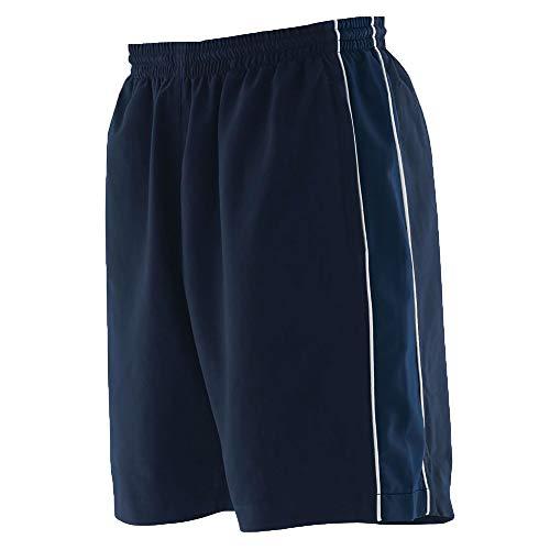 Finden & Hales - Short de Sport - Homme (XL) (Bleu Marine/Bleu Marine/Blanc)