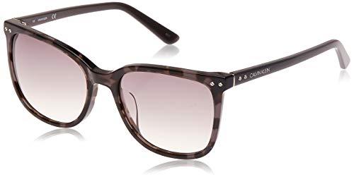 Calvin Klein EYEWEAR CK18507S gafas de sol, SHINY GUNM, 5618 para Mujer
