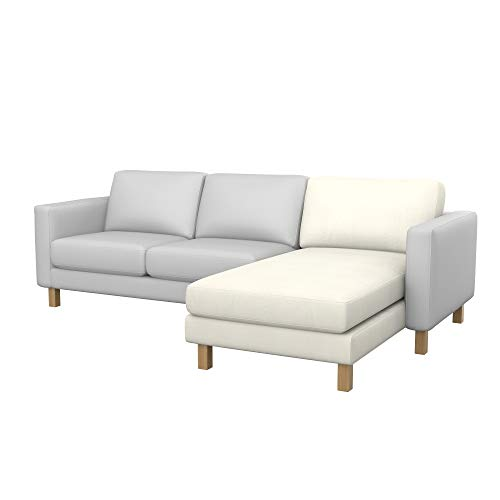 Funda de sofá para IKEA Karlstad Add-on Chaise Longue.
