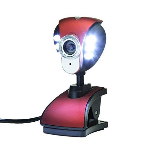 YXB HD Micro webcam, cómoda cámara en vivo, cámara HD 1080P con micrófono incorporado, grabadora de vídeo USB2.0, cámara de chat de vídeo