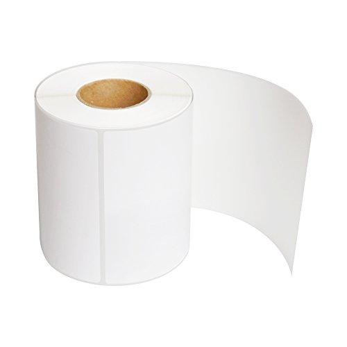 10cm x 15 cm (4' x 6')etichette termica diretta 250 etichette per rotolo, 2 rotoli per cartone Etichette spedizione in bianco 2 Rolls