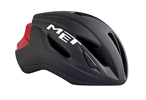 Met M3HM107M0NR1 Strale Cycle Helmet, Black/Red