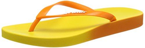 Lunar Rio Fem, Chaussures de Plage & Piscine Femme, Orange 21529, 35 EU