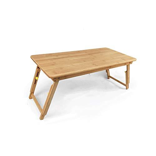 Z-COLOR Tabla portátil cama, escritorio portátil portátil, soporte for portátil sostenedor de la lectura, la tabla del cuaderno del dormitorio escritorio con patas plegables, for comer el desayuno, le