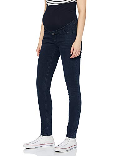 ESPRIT Maternity Damen Pants Denim OTB Slim Jeans, Darkwash-910, 38/32