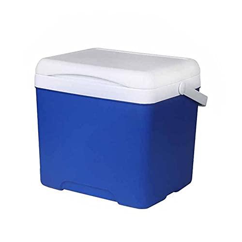 FIONAT Refrigerador portátil para coche, enfriadores de hielo de 5L, nevera, incubadora de coche, congelador para pesca, Camping, 27 * 20,5 * 19,5 cm