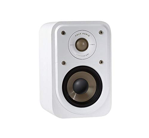 Polk Audio S10E Signature Polk Audio Signature S10 E - Altoparlanti surround, colore: Bianco