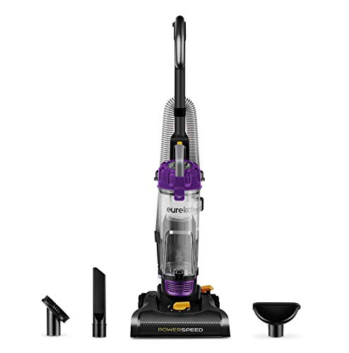 Eureka NEU182B PowerSpeed Bagless Upright Vacuum Cleaner, Purple
