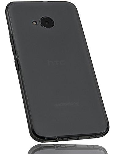 mumbi Custodia compatibile con HTC U11 Life, chiaro nero