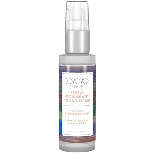 Facial Serum and Toner Gel - Extreme Firming and Tightening | Reduce Wrinkles and Fine Lines| Clean Vitamin C & E for Face Care | Anti-Aging for Both Men and Women |Dermatologist Tested by Jovovo