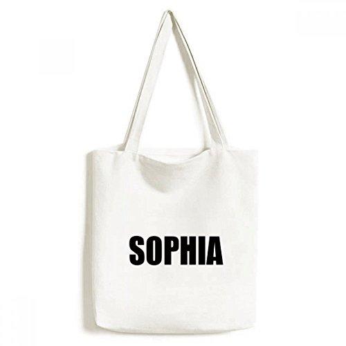DIYthinker Sophia Bulgarie Ville nom de l'environnement fourre-Tout Sac Shopping Lavable Craft 33cm x 40 cm (13 Pouces x 16 Pouces) Multicolore