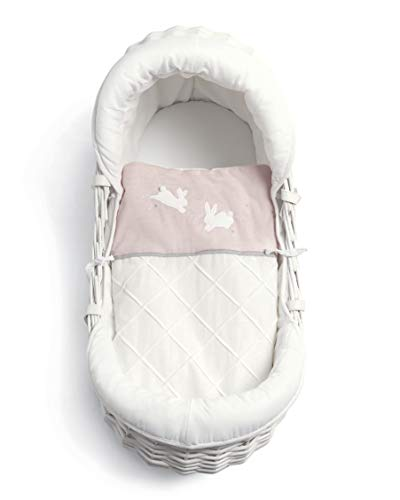 Mamas & Papas Moses Basket - Welcome to the World Pink - Welcome to the World Girls