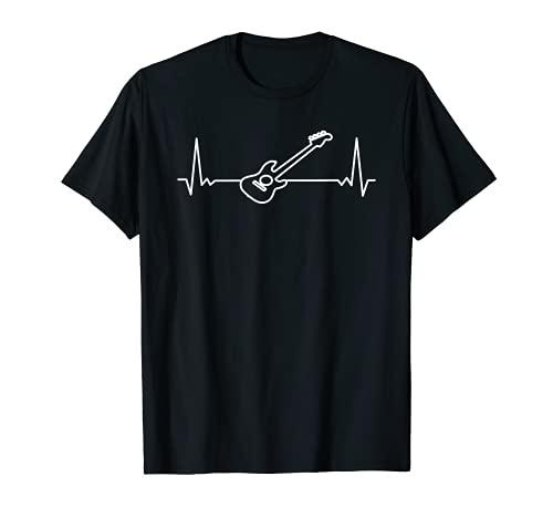 Hombre Guitarrista Tocar Guitarra Música Músico Guitarra Camiseta