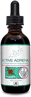 Active Adrenal - Advanced Adrenal Fatigue Supplement - All-Natural Liquid Formula for 2X Absorption - Ashwagandha, B-Vitam...
