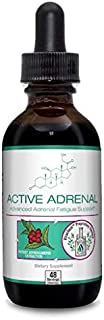 Active Adrenal - Advanced Adrenal Fatigue Supplement - All-Natural Liquid Formula for 2X Absorption - Ashwagandha, B-Vitamins, Magnesium and More