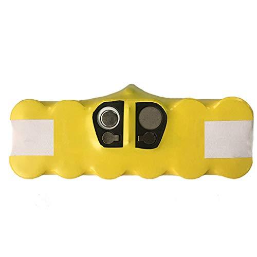 JFW 3500 MAH 14.4 V batería para iRobot Roomba Partes de aspirador batería recargable amarillo