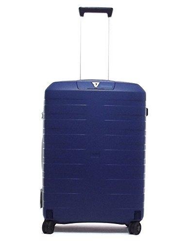 Roncato trolley viaggio, Box 5513-0183, trolley cabina quattro ruote in polipropilene, colore navy