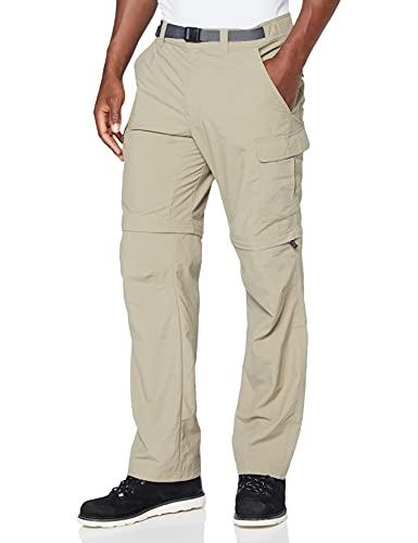 Columbia Cascades Explorer Pants Pantalones de senderismo, Hombre, Brown Tusk, 32W / 32L