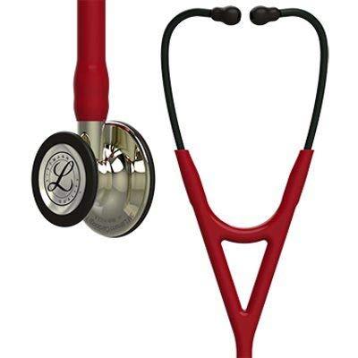 Fonendoscopio 3M™ Littmann® Cardiology IV™ con grabado láser gratuito - Granate Champagne 6176