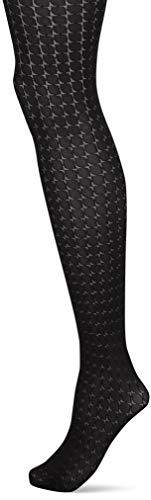 Hudson Damen Circle Strumpfhose, 20 DEN, Schwarz (Black 0005), 44 (Herstellergröße: 44/46)