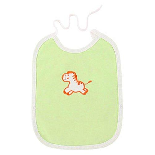 Liuyu · Maison de Vie Bébé Bavoir Coton Imperméable Nouveau-nés Été (Couleur : Vert, Taille : 7 Pcs/Set)
