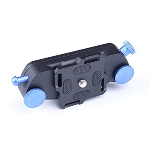 Erfassen Kamera Clip Aluminium Legierung Quick Release Clip mit Platte Mit 1/4 Stativ Schrauben für DSLR