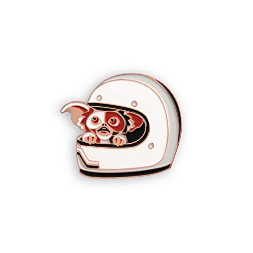 DKNG Gremlins: Uh Oh (Gizmo/Mogwai Hiding in Motorcycle Helmet Enamel Lapel Pin x Mondo)