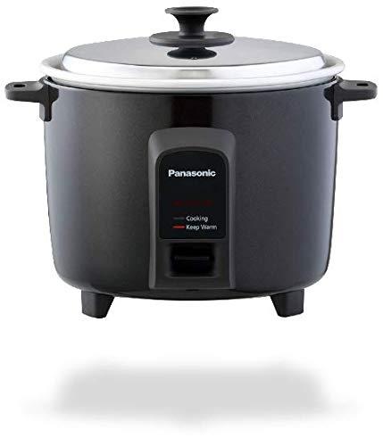Panasonic SR-WA18H(BBW) Rice Cooker, Black