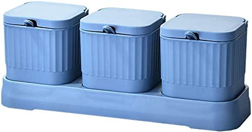 Kruiden Opslag, Kruidenpot Kruidendoos Kruiden Plastic Kruiden Doos voor Keuken Huishoudelijke Kruiden Pot Set S