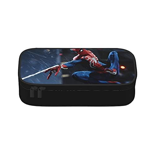 Monedero Spiderman Monedero,Cambio monedero con cremallera,Bolsa de cuero suave Mini tamaño