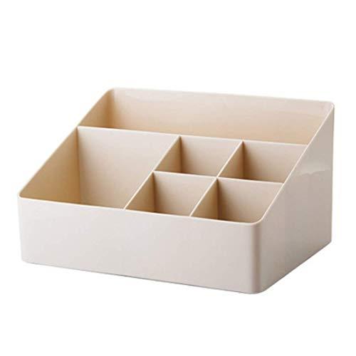 YuoungYuan Organizador Escritorio NiñOs Organizadores De Escritorio Apilable Cajas de Almacenamiento De Almacenamiento de Metal Apricot