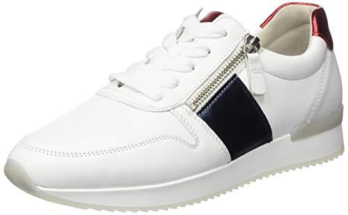 Gabor Damen Jollys 43.42 Sneaker, Blau (Marine Kombi 21), 38.5 EU