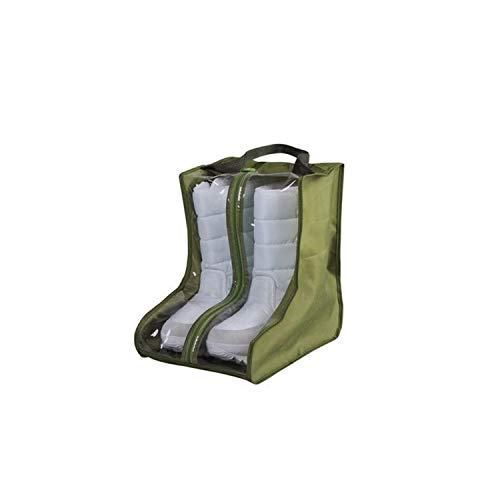Doreen Dalton PVC Oxford staubdichte Tasche Stiefel Schuhe Aufbewahrungstasche Schuhe Schutz Tasche Home Supplies Praktische Reise Aufbewahrungstasche, Armee-grün, Army Green (Grün)