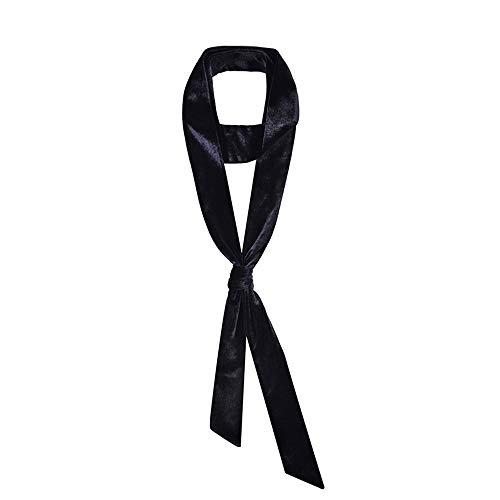 CHICOMP Women Vintage Velvet Skinny Scarf/Choker Scarf Tie/Silk Ribbon Sash